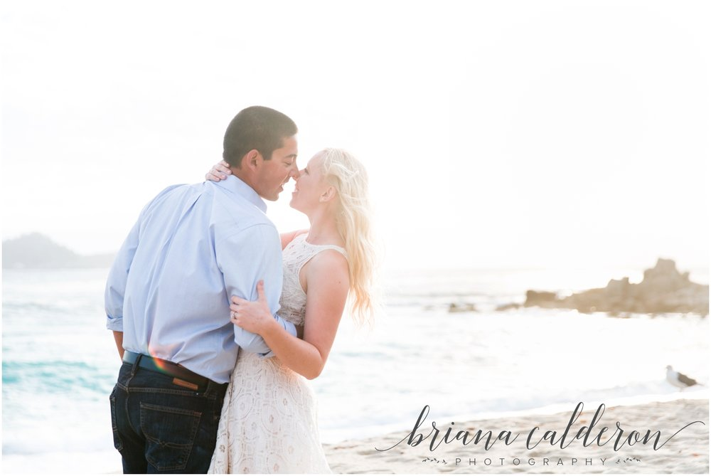 Carmel beach engagement pictures by Briana Calderon Photography_1160.jpg