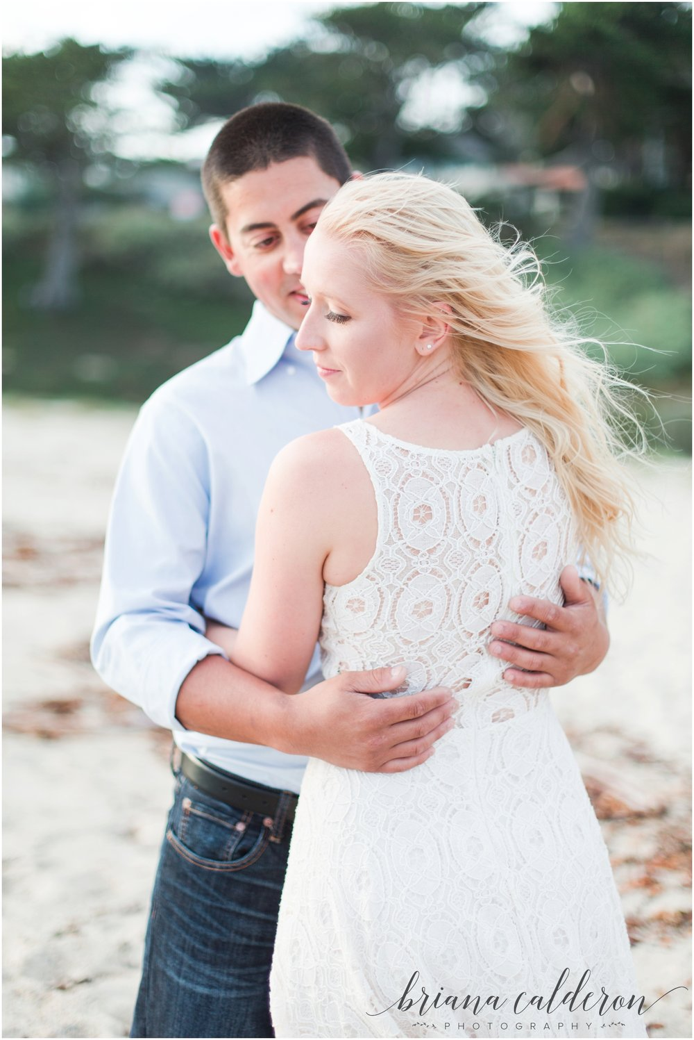 Carmel beach engagement pictures by Briana Calderon Photography_1162.jpg