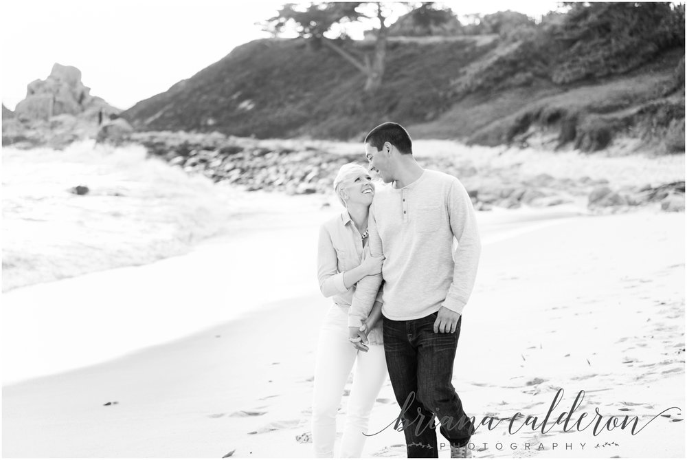 Carmel beach engagement pictures by Briana Calderon Photography_1158.jpg