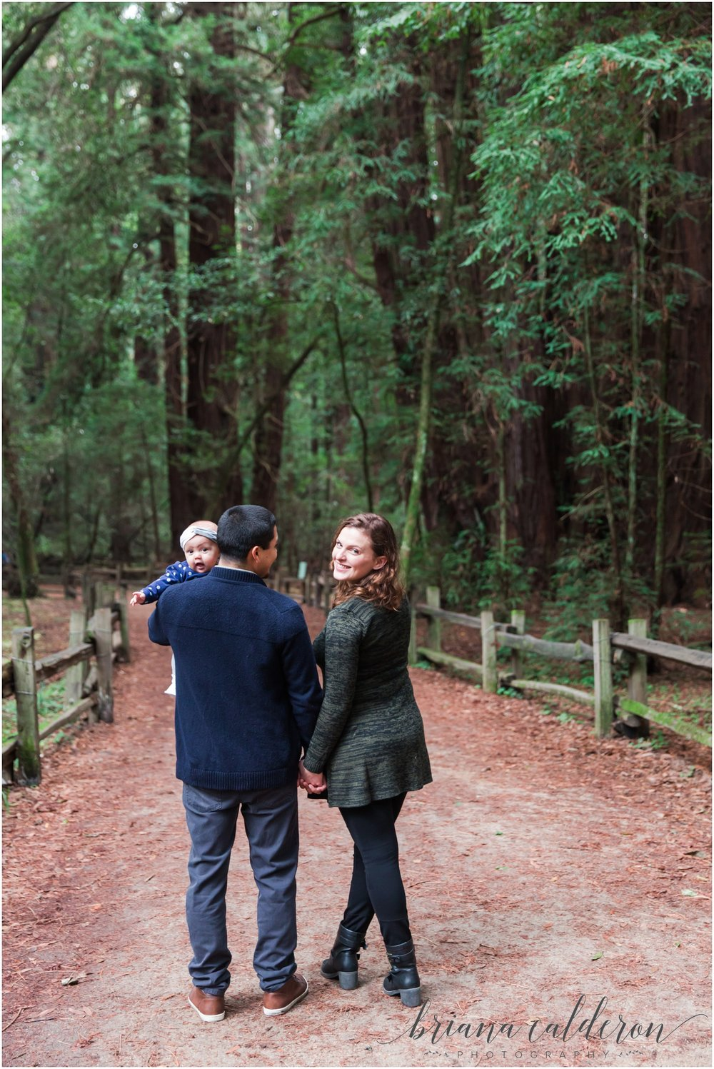 Engagement pictures at Henry Cowell Redwoods in Felton, CA by Briana Calderon Photography_1323.jpg