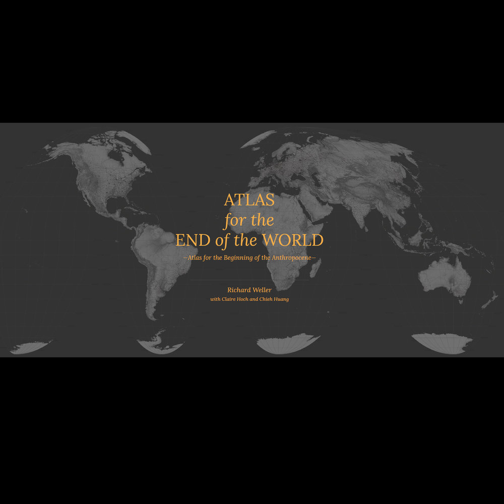 ATLAS FOR THE END OF THE WORLD    This web based research project co authored with Claire Hoch and Chieh Huang audits global protected areas and catalogues cities which are expanding into high value biodiversity.