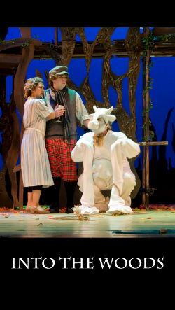 Helena on left as Jack's Mom, in her college's production of Into the Woods - proving that Asian Americans can be in non-stereotyped roles, and that activists can also be artists.