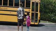 School Bus Q and His Little Queenie