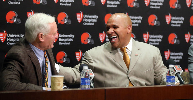 """""""Wait, you mean you drafted a 5'10"""" alcoholic scrambling trust fund free-lancer to be your franchise QB because a homeless man told you to do so? Damn, that is funnier than my Palmer trade press conference pronouncement...Dawg Pound Gangsta!"""""""