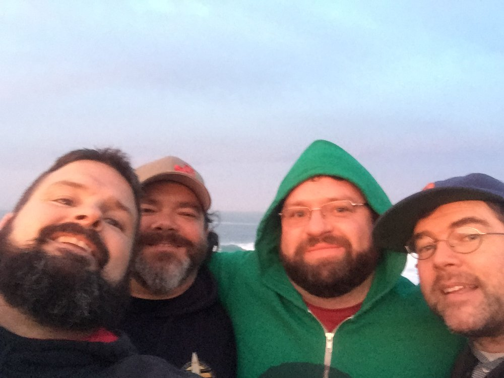 The Jersey Sunrise Boys On The Pacific Ocean
