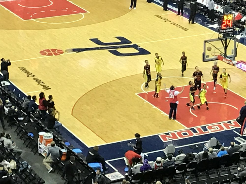 The Verizon Center Is For The Children ...well, at least at halftime of the Sixers' visit it was.