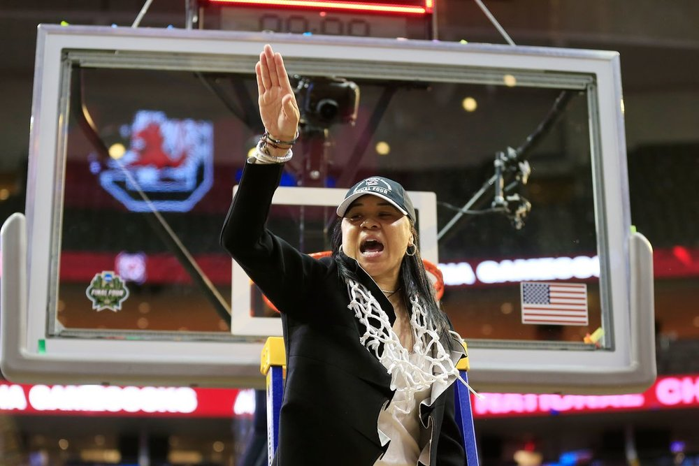 Former Temple Owls Head Coach Dawn Staley, on winning her first NCAA National Championship as Head Coach of the University of South Carolina Gamecocks.