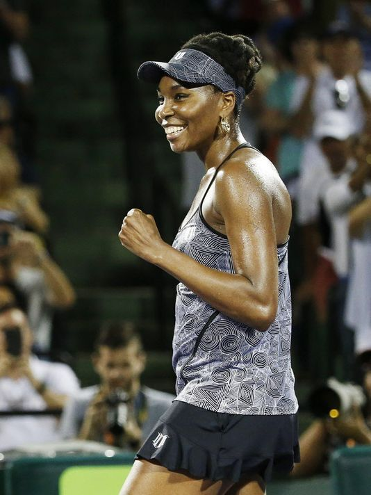 Meanwhile, in the only professional sport in the world with true gender equity,  Congrats to The Wudder's Favorite Tennis Player of All-Time, Venus Williams , for becoming the oldest player to ever beat a World #1-ranked player, when she defeated Angelique Kerber two weeks ago, in the quarterfinals of the Miami Open. Venus also moved into the Top 10 for the first time in several years, her absence mostly due to illness and injury, just two months shy of her 37th Birthday.