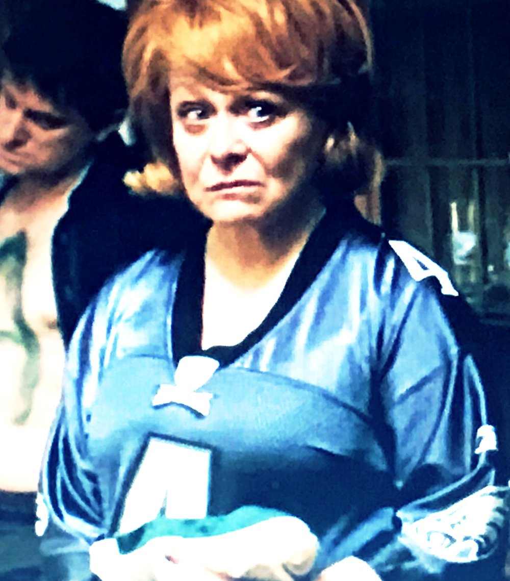 Jacki Weaver's Facial Expression Sums Up My Reaction to Her Jersey.