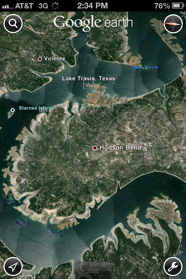 Lake Travis drought