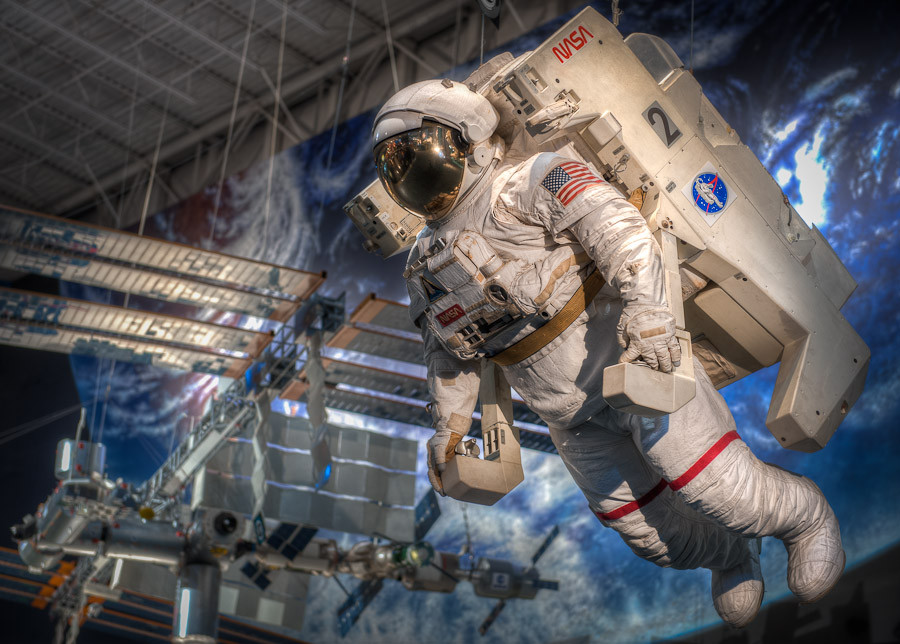 Space Center Houston. Photo by Dave Wilson Photography.