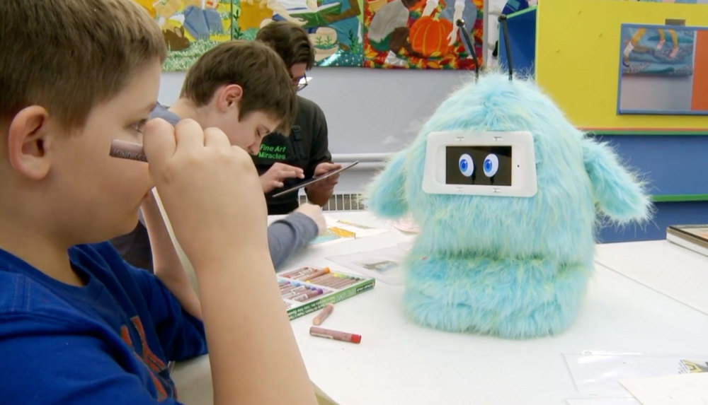 Meet   Romibo   A socially assistive robot that engages and encourages young learners