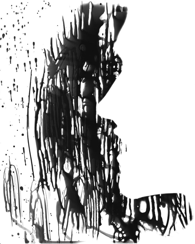 Photogram (Self Portrait) - 2009