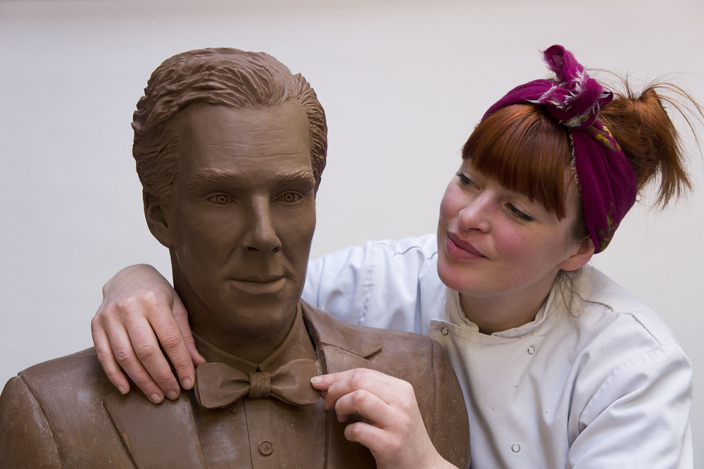 Cumberbatch, The chocolate Benedict Cumberbatch