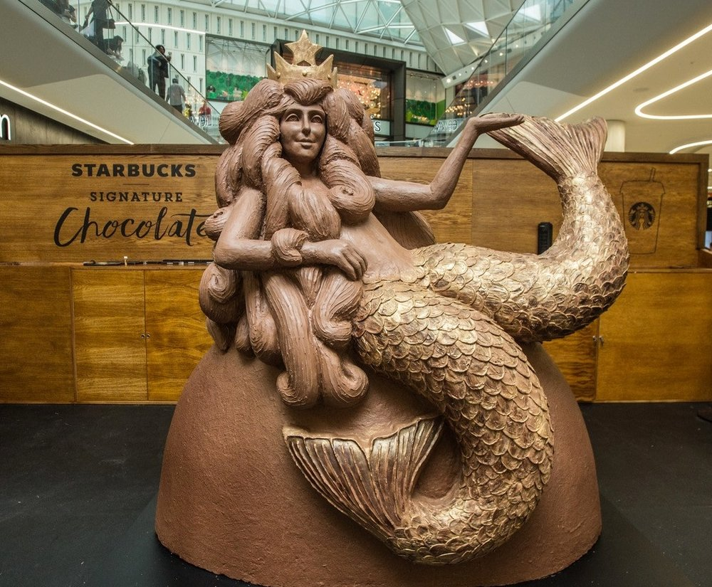 Chocolate Mermaid