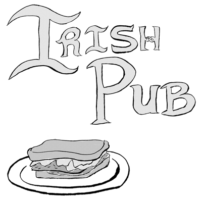 Irish Pub - A short sensory comic