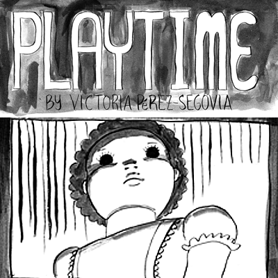 Playtime - A short comic about childhood fears