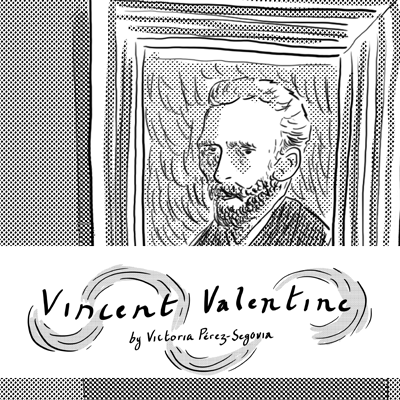 Vincent Valentine - A short diary comic about a Valentine's date