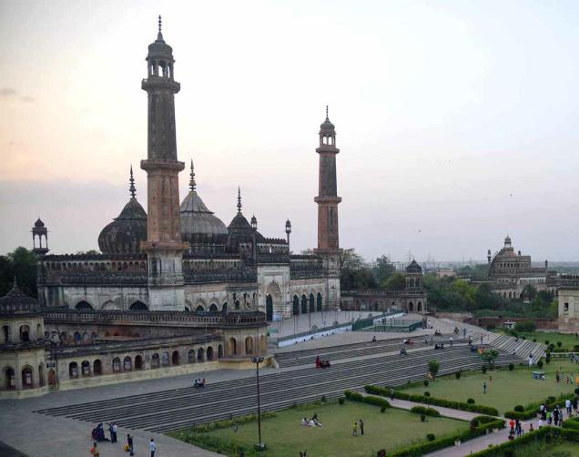 The Asafi Mosque, Old City, Lucknow