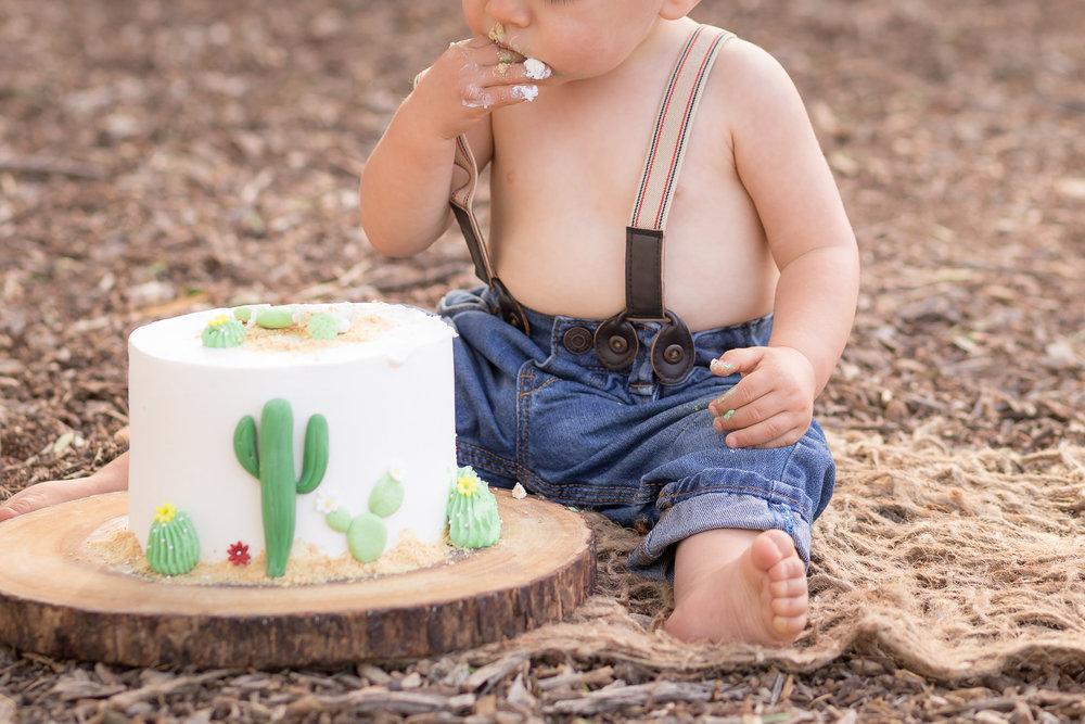 Cactus Cowboy Southwestern Cake Smash- Oh My Goddard Photography - San Diego Oceanside Cake Smash Photographer-14.jpg