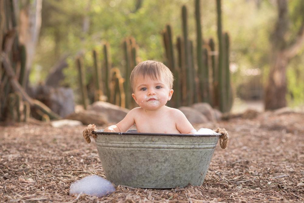 Cactus Cowboy Southwestern Cake Smash- Oh My Goddard Photography - San Diego Oceanside Cake Smash Photographer-25.jpg