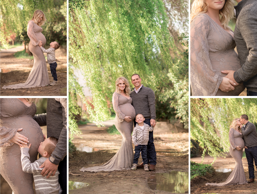 Oceanside Maternity Photography West 12 Ranch Rustic Maternity Gown.jpg