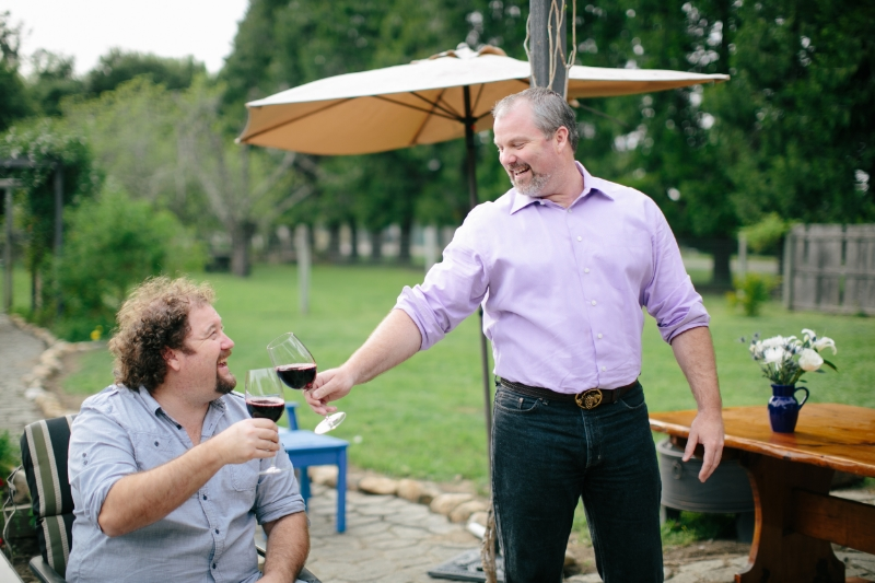 The men behind the name - Gore Family Vineyard