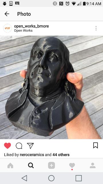 Ben's bust!