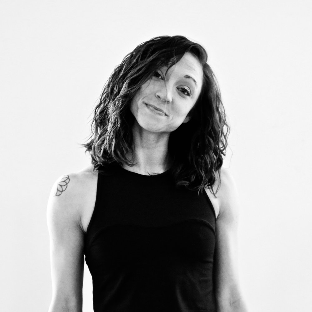 """CHLOE SINCLAIR - Studio Manager & InstructorTeaching Style: Fierce, athletic, original, extra AFFavorite song to sweat to: """"U Don't Know"""" by Jay-ZMega move I can't live without: Super Lunge. (and anything single leg, single arm, single anything)You may not know… I am a flying trapeze artist and (surprisingly) an introvert."""