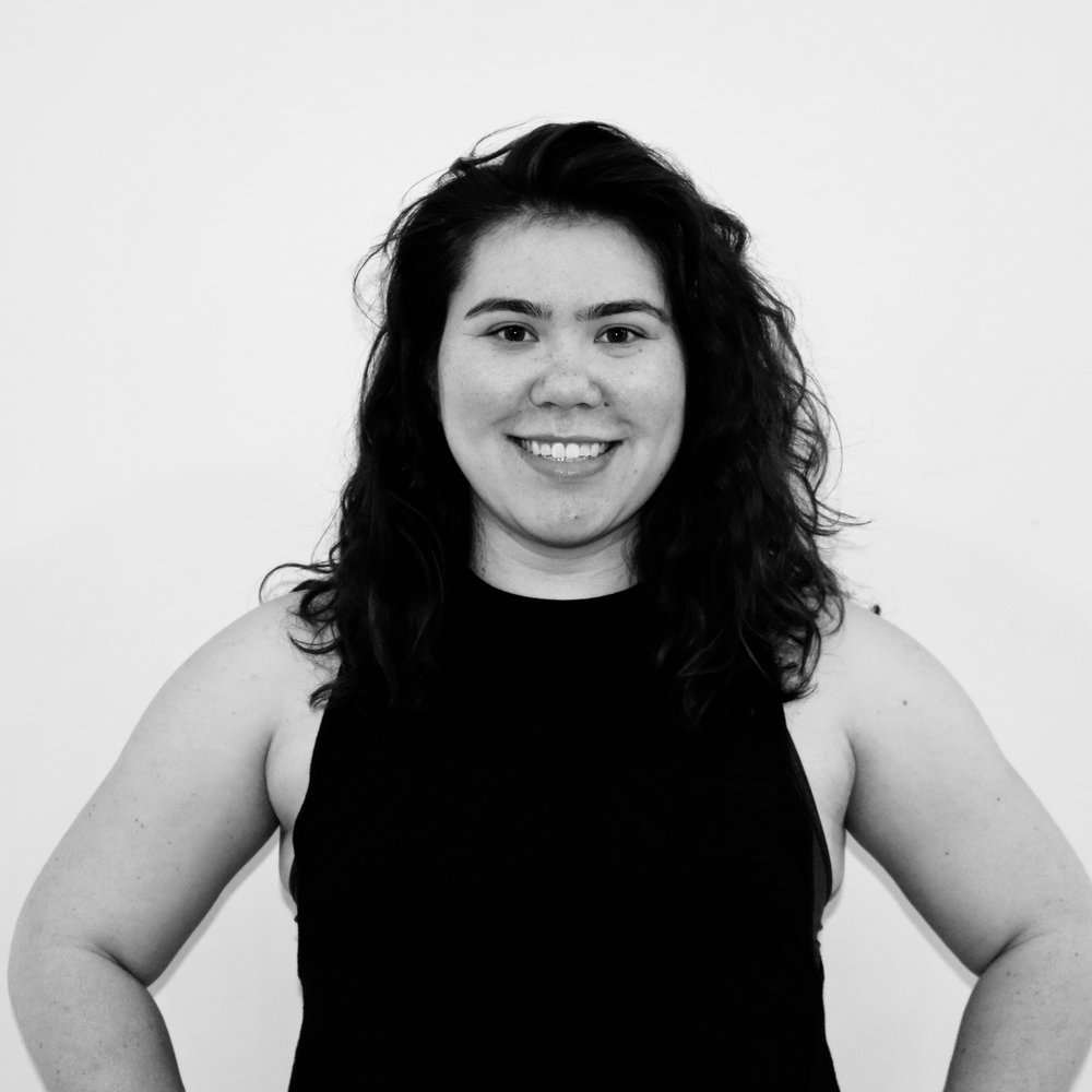 """MARY YEH - Teaching Style: Energetic, Authentic, KindFavorite song to sweat to: """"Come Get It Bae"""" by: Pharrell WilliamsMega move I can't live without: SkaterYou may not know... I competed as an Irish dancer for over 10 years."""