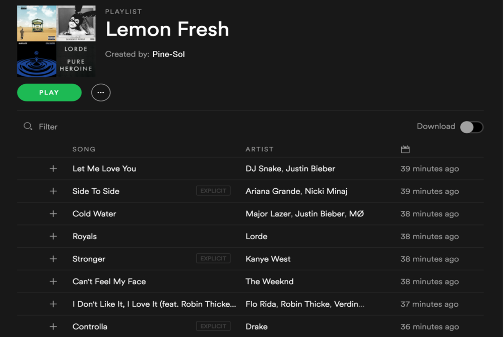 lemon fresh playlist.png