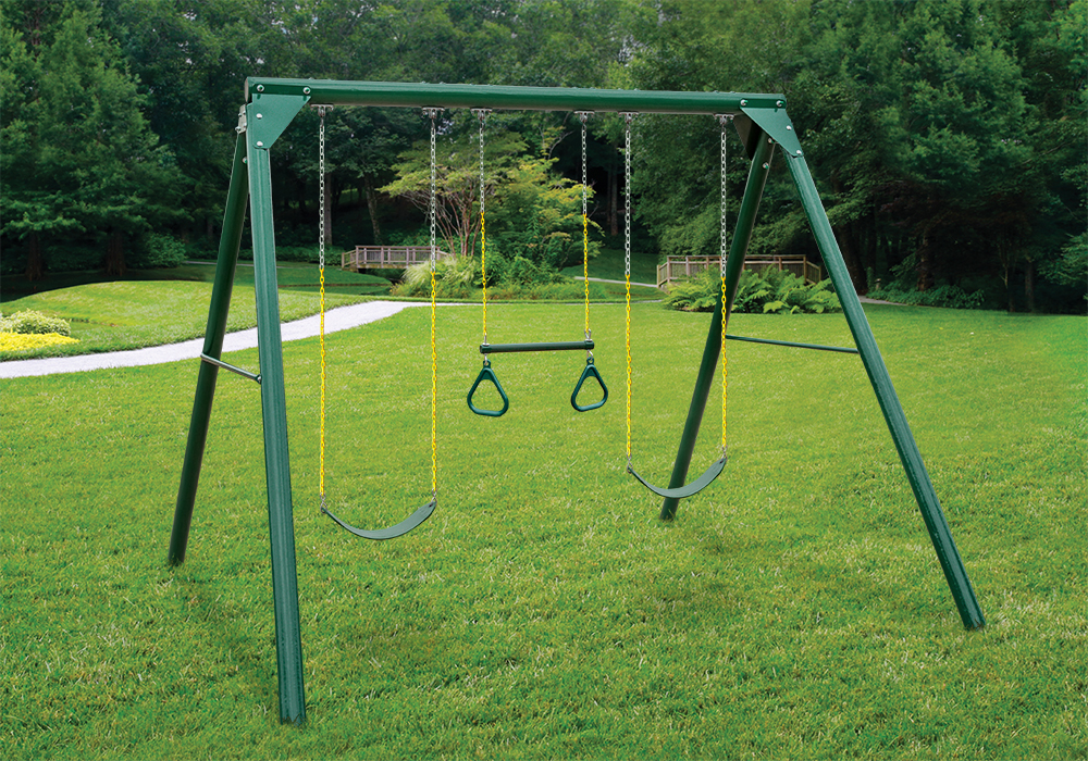 Roundabout Swing Set - Lifestyle