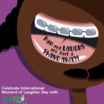 Gorilla Moment of Laughter Day Promo
