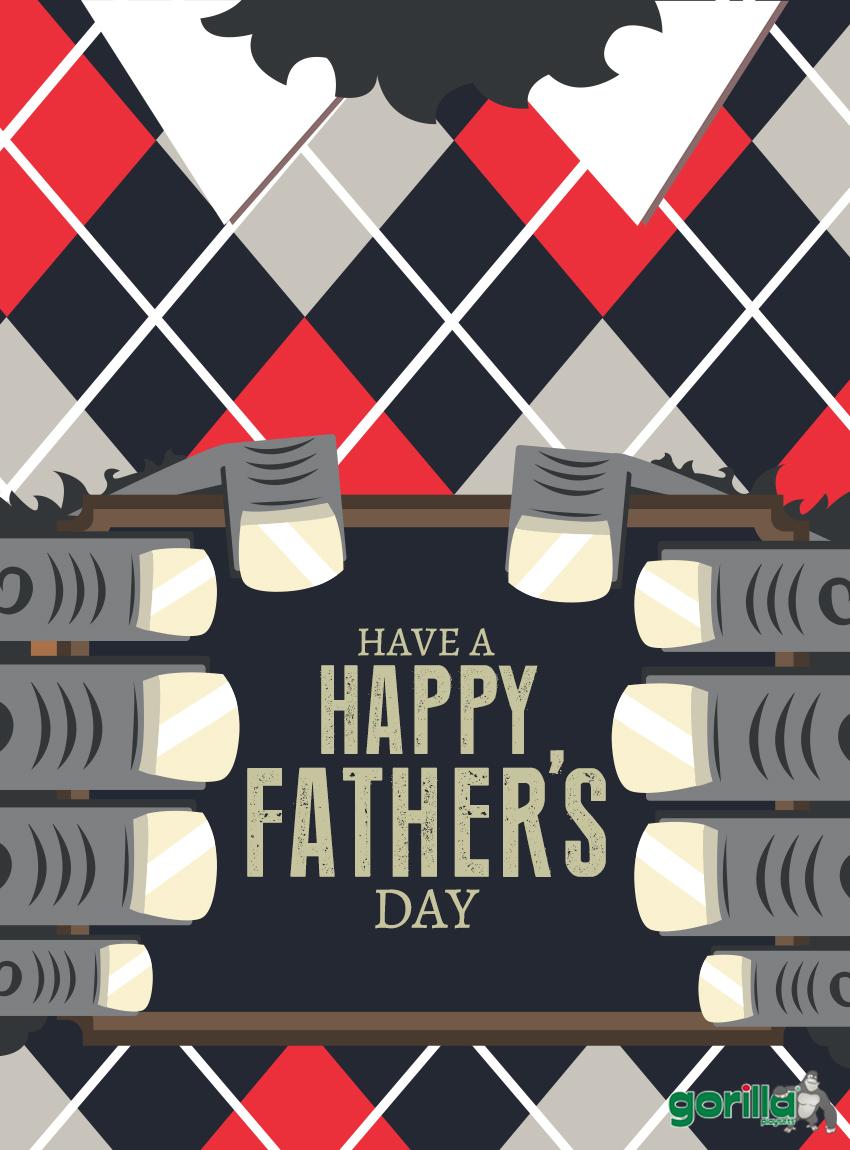 Gorilla Father's Day Promo