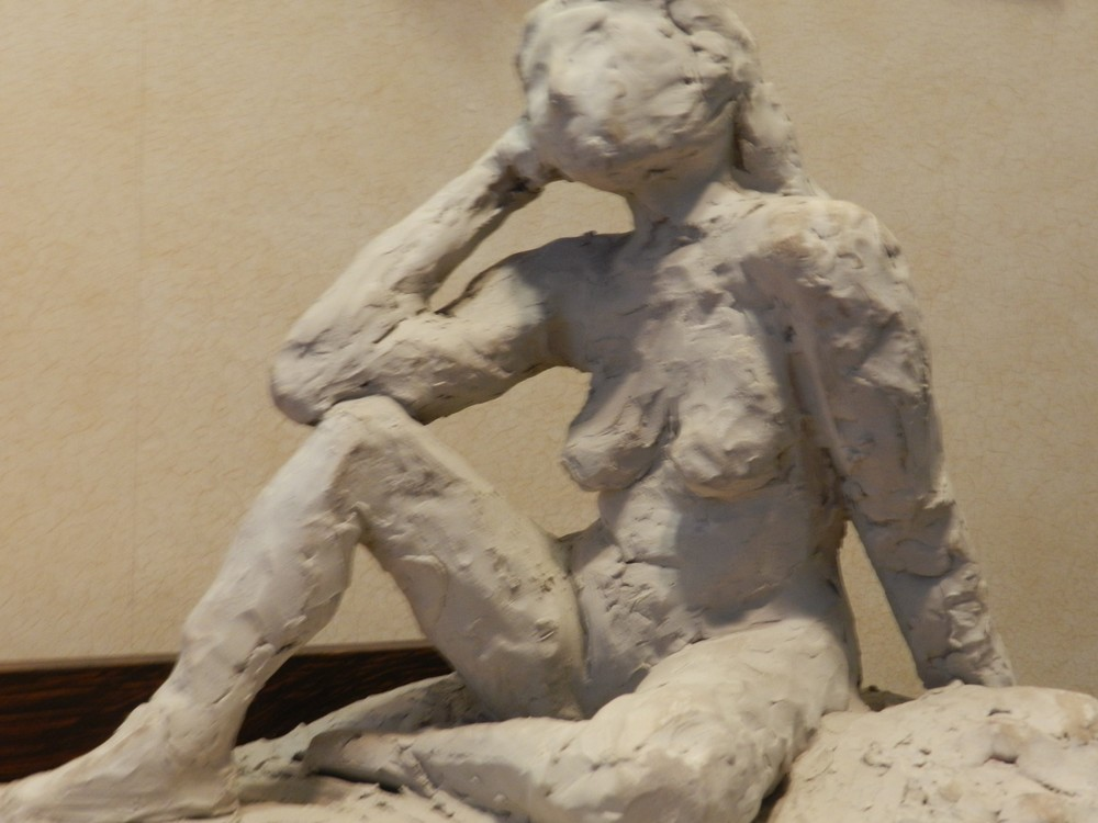 New York Studio School study in clay