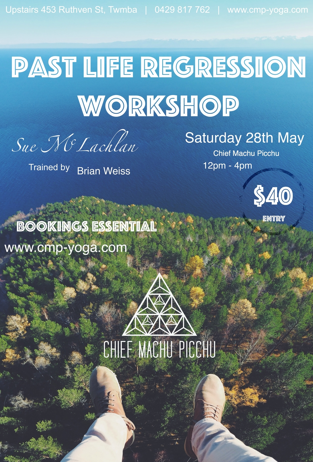 Past Life Regression Workshop at our Studio on 28th of May with Sue McLachlan $40 Entry Book Now!