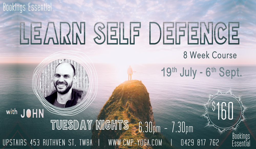 8 Week Self Defence Course taken by John
