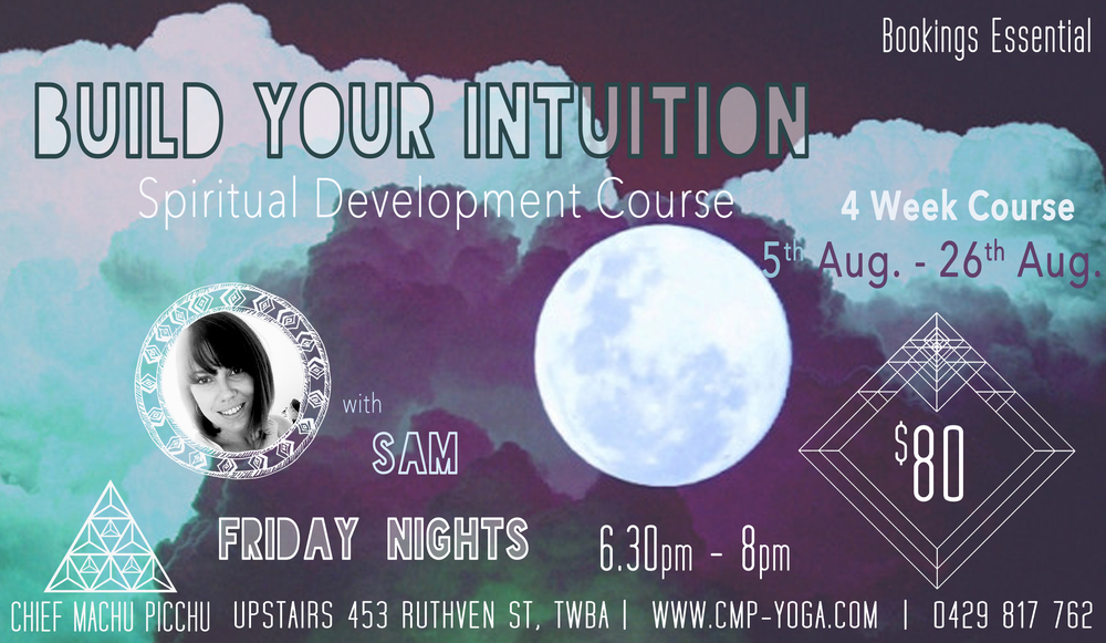 Build Your Intuition - Spiritual Development Course in Toowoomba City