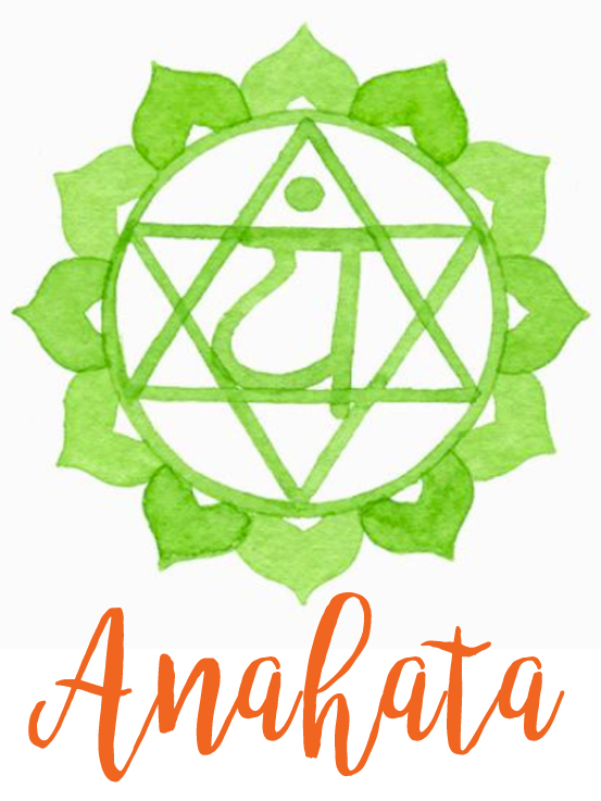 """THE HEART CHAKRA   'Anahata' chakra is the fourth chakra – the middle chakra, and the area where the physical meets the spiritual.  The heart chakra is the centre of love, warmth, compassion, joy, kindness, respect, and generosity. It is the integrating and unifying chakra – it brings wholeness and healing. The phrase """"love heals all"""" is profoundly truthful – love is our true nature, the source of all our power, and aligned with everything that we need or desire.   SYMPTOMS OF UNBALANCED HEART CHAKRA   · Loneliness, shyness  · Social anxiety; being overly critical to yourself and others.  · Holding grudges, suspicion or fear of others,  · Inability to share, selfishness,  · Judgment, hate, despair, envy, fear, anger, jealousy,  · Losing your own identity, lack of self-care,  · Inability to create boundaries in relationships,  · Saying yes to everyone even when it is detrimental to the self,  · Heart conditions, hypertension, heart palpitations, angina,  · Asthma, lung and breast cancers, pneumonia,  Shoulder issues, poor circulation, and bronchitis.   Colour  Green   Mantra Sound  Yum   Location  Centre of the chest   Element  Air   Sanskrit  Anahata – unhurt, unstruck   Symbol  Star of David  Challenge  Grief  Animal   Dove   Bodily Structures  Heart, lungs, circulatory system, arms, hands, diaphragm, thymus, breasts, oesophagus, shoulders.   Sense  Touch   Essential Oils   · Melissa  · Marjoram  · Helichrysum  · Lemon  · Yarrow  · Eucalyptus  · Geranium  · Lime  · Tea Tree  · Peppermint  · Rose  · Thyme  · Ylang ylang  · doTERRA Serenity  · doTERRA Cheer  · doTERRA Easy Air  · doTERRA Console    BUY OILS HERE       Crystals  Malachite, Emerald, Rose Quartz, Jade, Green Tourmaline, Amazonite, Chrysocolla, Chrysoprase, Green Aventurine.   Foods & Spices   Kale, lettuce, spinach, chard, bok choy, collard greens, broccoli, dandelion greens, cauliflower, cabbage, celery, squash, green tea, basil, sage, thyme, cilantro, parsley.   Other Tips  Forgiveness work, inner chi"""