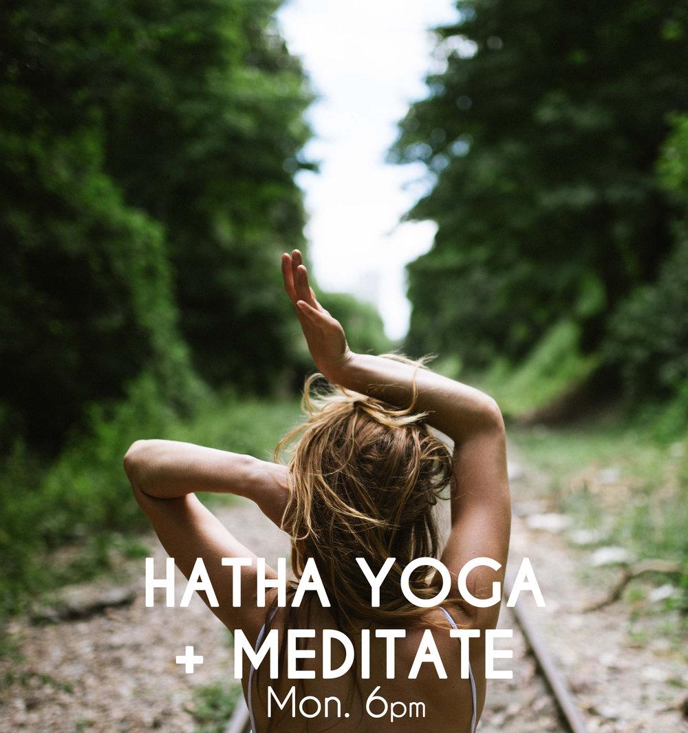 HATHA YOGA + MEDITATE - GentleFlexibility & MobilityCalm the Mind