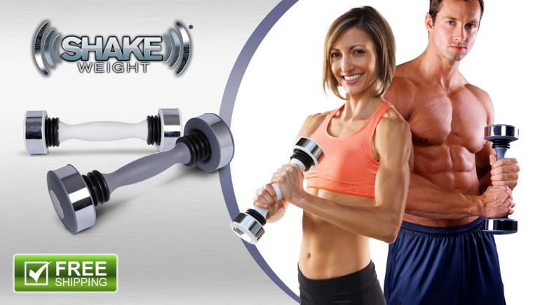 """The abs don't lie...  the shake weight has changed my life."""