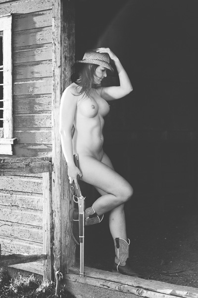 naked cowgirl // fine art nude photography — bold beautiful boudoir