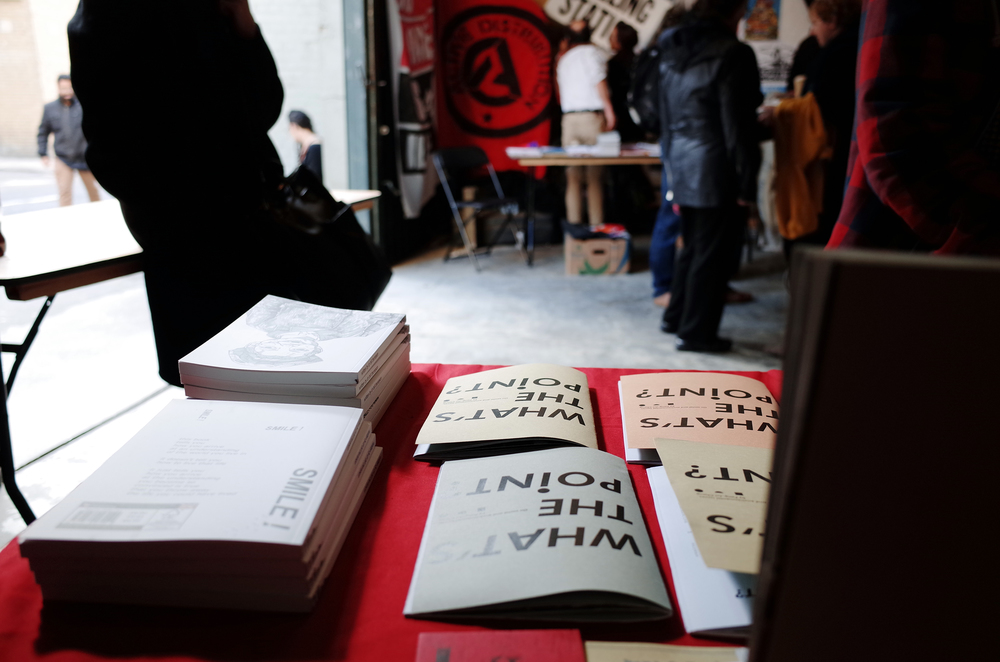 Takeover radical book fair, London, 2015