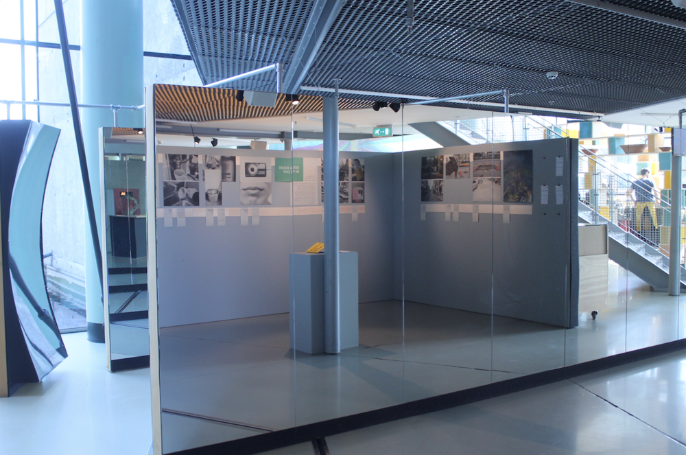 Pop-in expo of 'Architecture of Appropriation', Het Nieuwe Instituut, Rotterdam, 2017