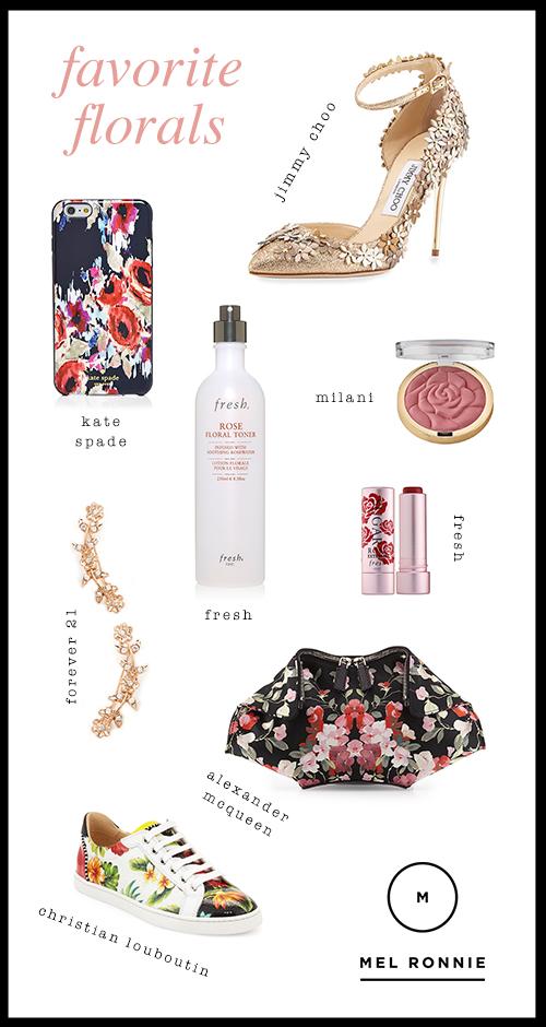 Mel Ronnie Florals Collage