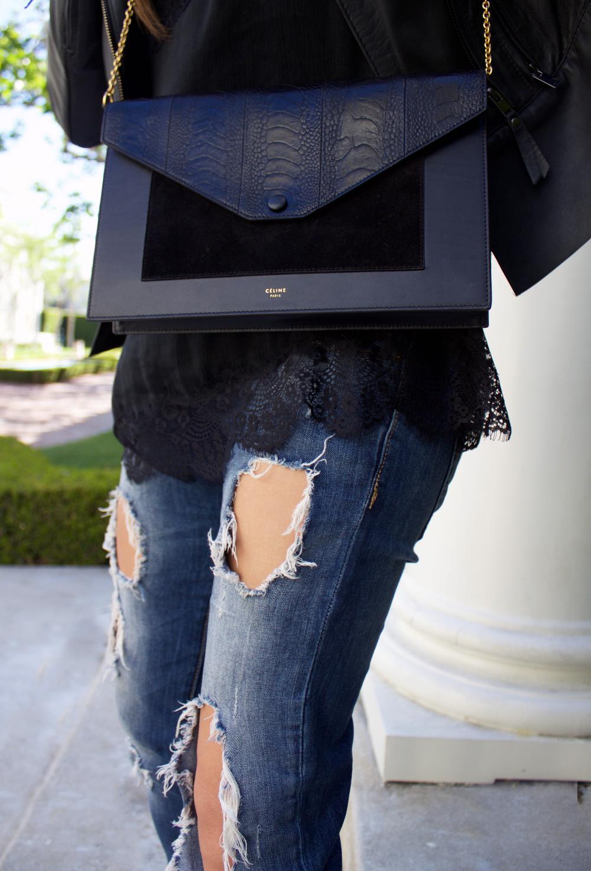 Mel Ronnie - Dressing Up Destroyed Denim