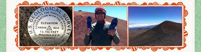 W. Q. at Mt. Mauna Kea
