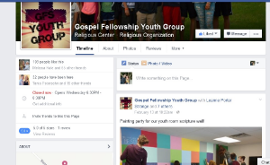 VISIT GOSPEL FELLOWSHIP YOUTH GROUP ON FACEBOOK.