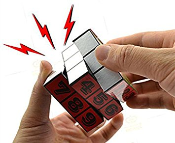 Rubik's Cube Electric Shock Prank Toy