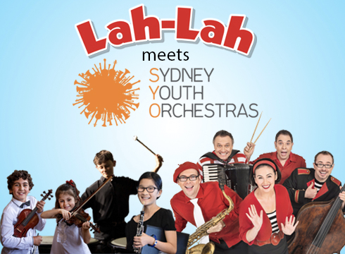LAH LAHS BIG LIVE BAND MEETS THE SYDNEY YOUTH ORCHESTRA 30TH SEPT  lower town hall